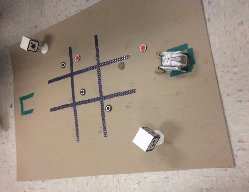 Voice-controlled Tic Tac Toe with Anki Cozmo